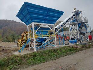 новый бетонный завод PROMAX Compact Concrete Batching Plant C60-SNG-PLUS (60m3/h