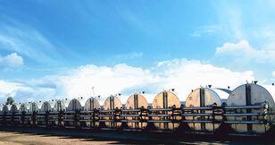 новый силос для цемента MARINI tankFALT - система термоизолированных резервуаров и трубопроводо